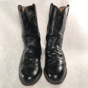 💗Justin Roper leather boots. 9.5 EEE